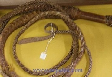 Rope usually use for Punishing with lashes in many countries in the world.