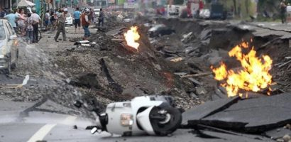 Gas blasts in Taiwan killed 24, injure 271