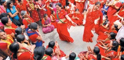 Celebrating Teej in Nepal