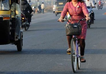 Take a cycle or walk to office for Mental health