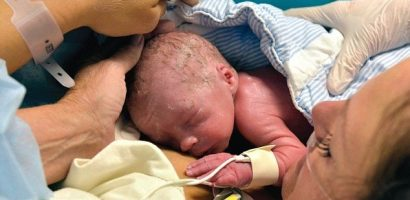 Baby Boy Born From A Donated Womb