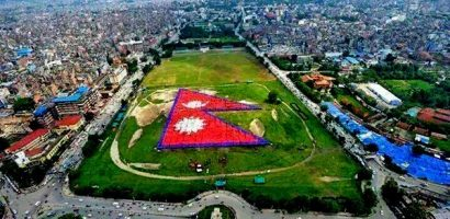 Nepal Break the Record of World's Largest Human Flag