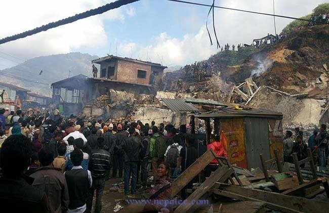 8 houses destroys By Fire in Eastern Nepal