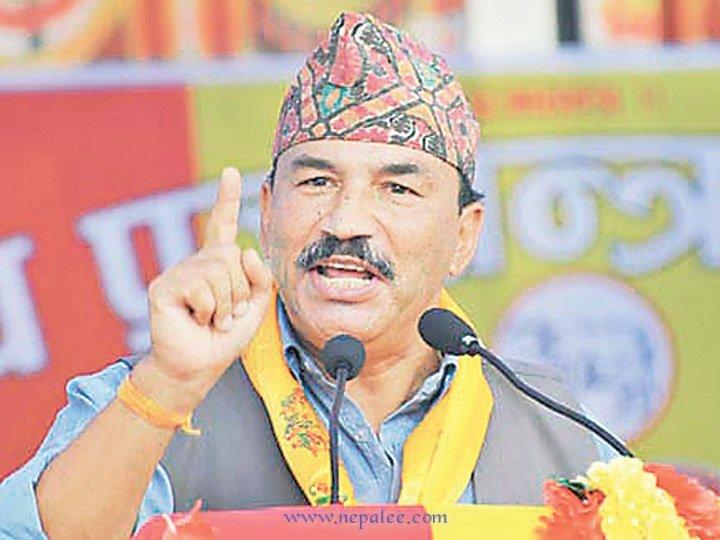 RPP Leader Kamal Thapa