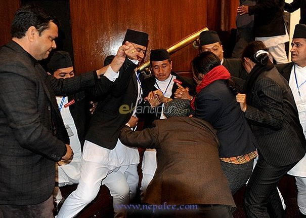 Constituent Assembly obstructed Second Day In A row