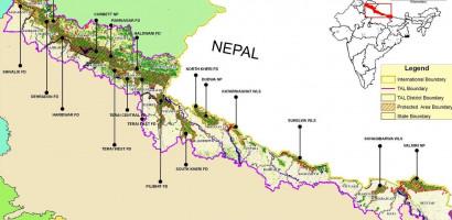Nepal India Boundary up-gradation works started