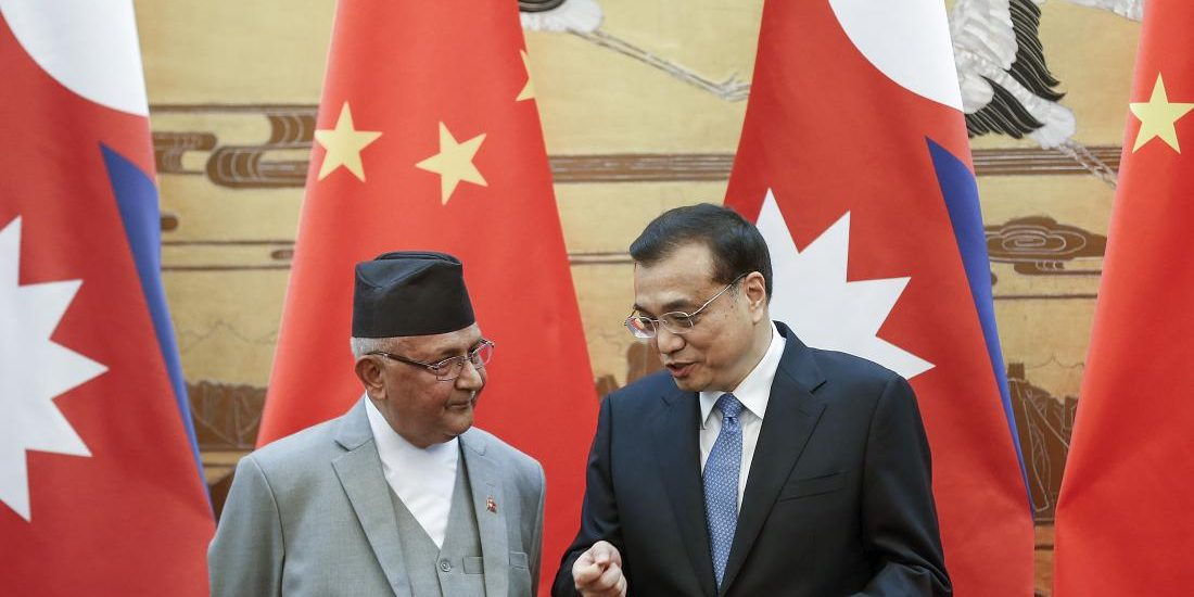 Home secretaries of Nepal and China are meeting in Beijing to Discuss Security