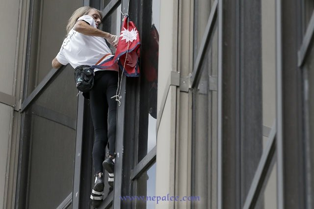 French Spiderman
