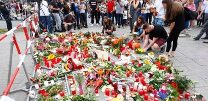 Munich Gunman Lured people to Fast food restaurant offering free meal and Killed