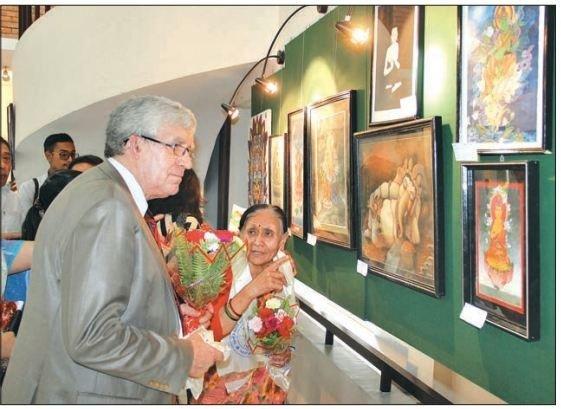 Universal Art Exibition, Kathmandu