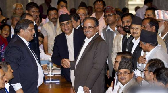Prachanda is the lone horse in the race for Next Prime Minister
