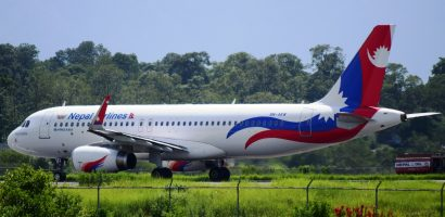 NAC Airbus tyre bursts during landing at TIA, all passengers safe