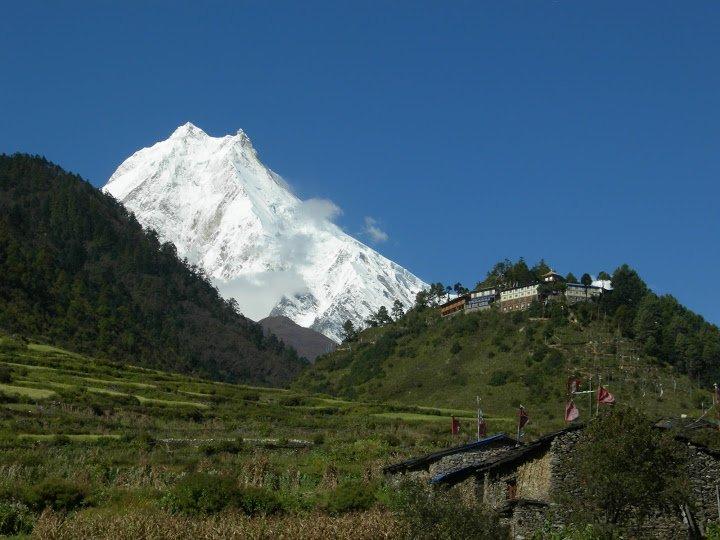 Iho Ribung Gompa, Manaslu Trekking