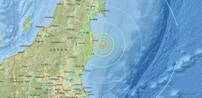 Strong quake near Fukushima disaster site in Japan Triggered Tsunami