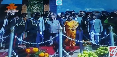 Indian President Arrived in Kathmandu for a 3 Day state Visit