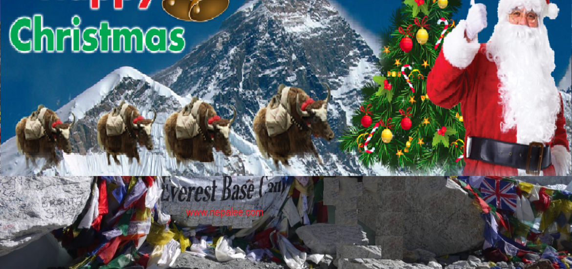 Christmas greetings from Everest