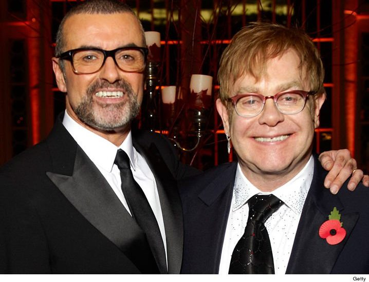 Singer Elton John published a picture of himself with Michael