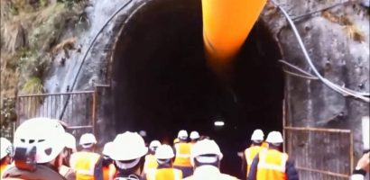First Section of Melamchi Water Tunnel Completed