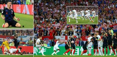 Croatia first world cup final berth as they beat England 2-1