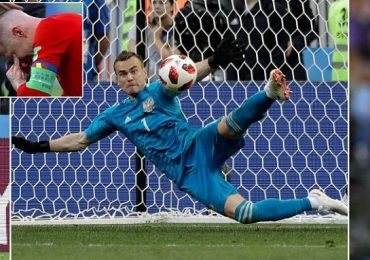 Russia reach quarterfinals beating Spain on penalties