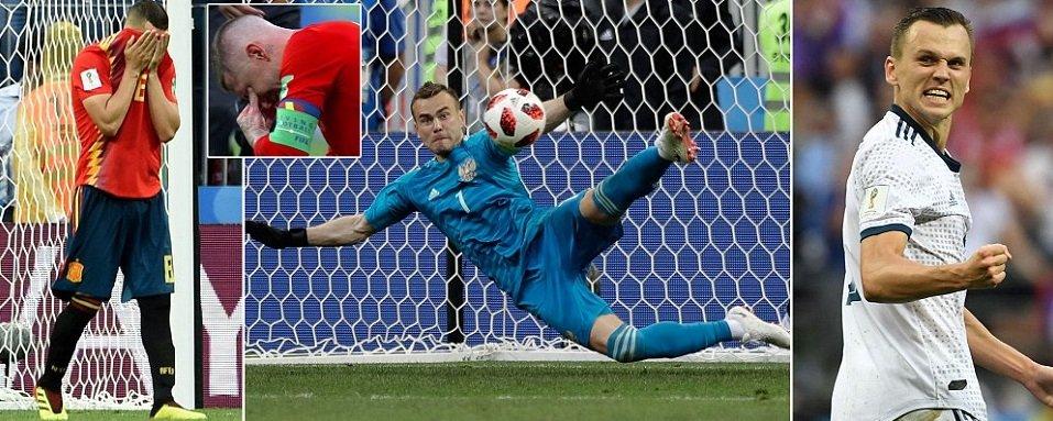 Russia vs Spain