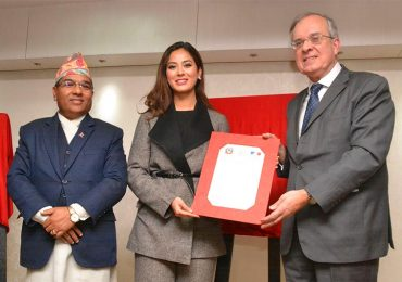 Shrinkhala Khatiwada was appointed Goodwill Envoy to France