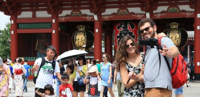 30 million overseas travelers visited Japan in 2018