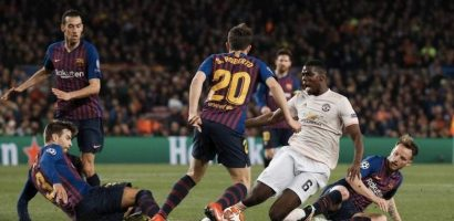 Barca reach semis against United