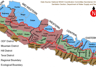 Dhading becomes 64th ODF district in Nepal