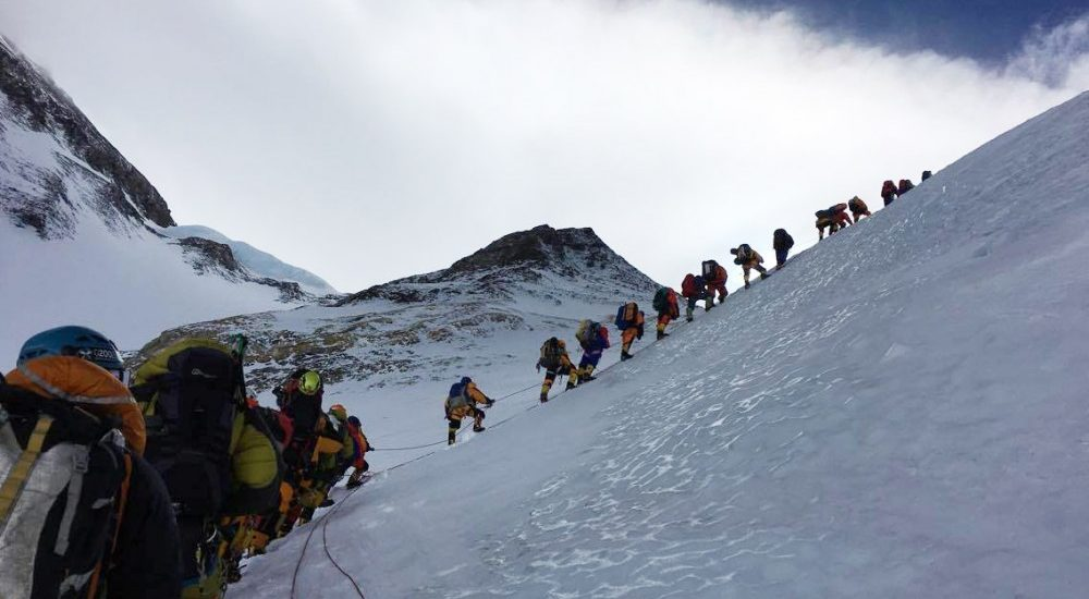 Cyclone Fani blew away tents at Everest Base Camp