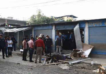 Three persons killed and four injured by blasts in Kathmandu