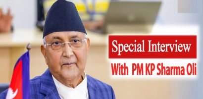 An Interview with PM Oli on Current Scenario