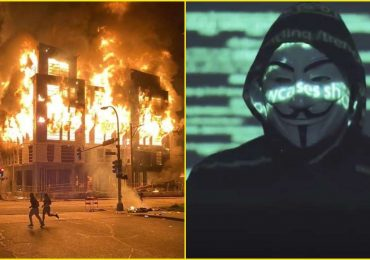 Hacker group Anonymous' message for Minneapolis Police Goes Viral
