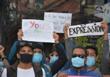 Anti Government Demonstration Hits Nationwide in Nepal